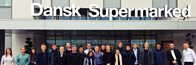 Company visit at Dansk Supermarked Group
